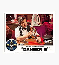 "Danger 5 Lobby Card #12 - ""Hein's wife"" Photographic Print"
