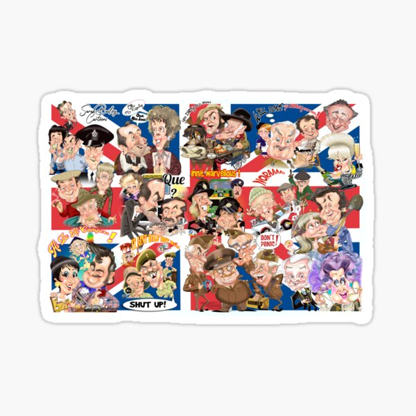 British sitcoms compilation Sticker