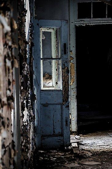 Robin's Egg Blue Door by ishootiso640