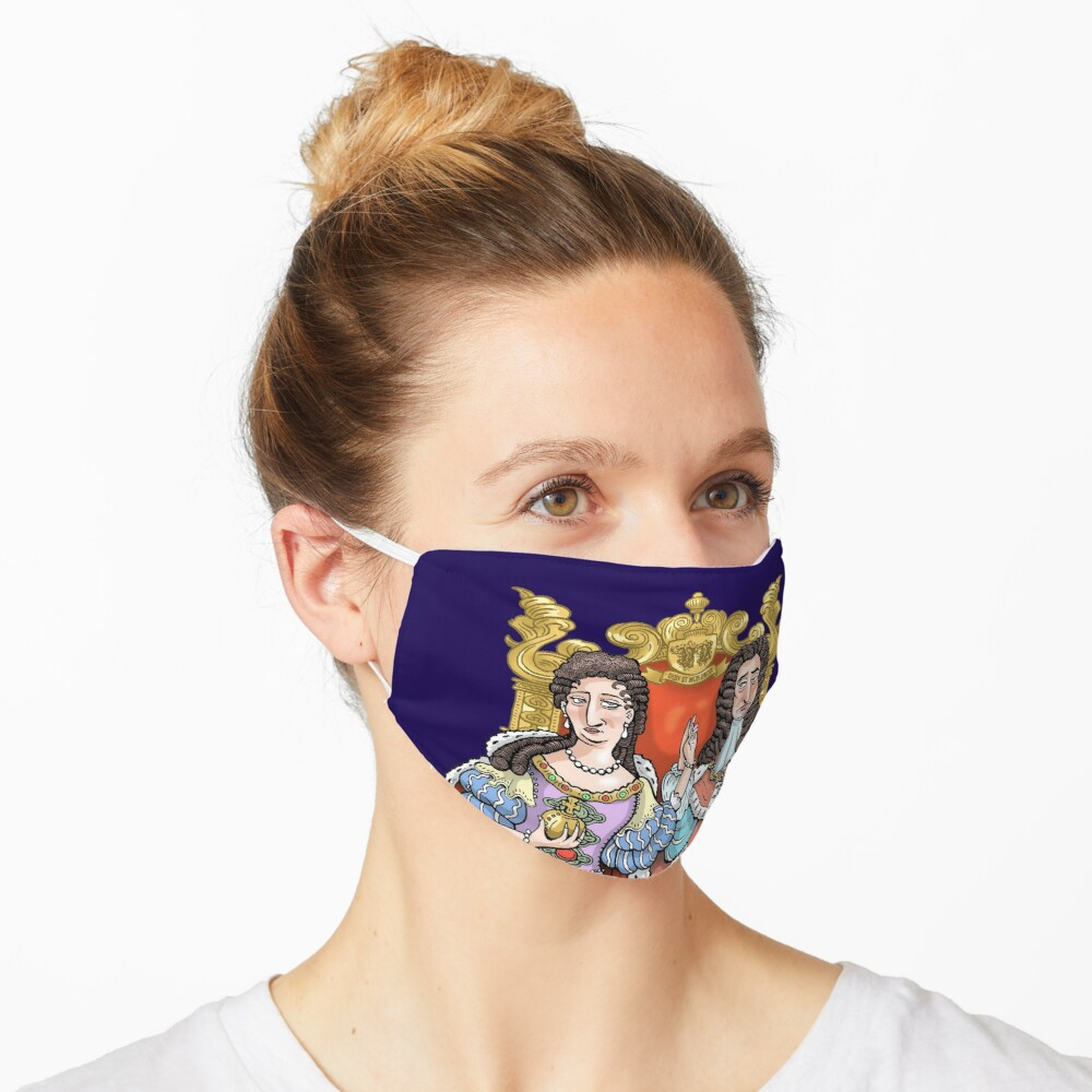 William & Mary Mask