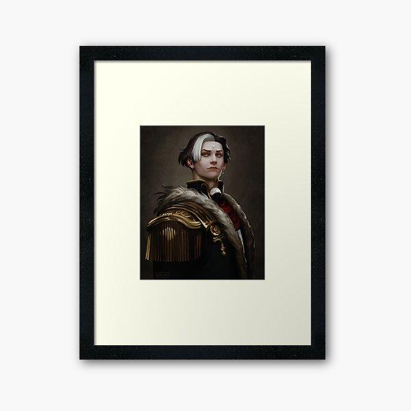 Portrait de Solus zos Galvus Impression encadrée