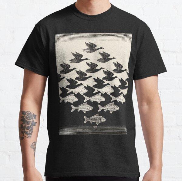 Ciel et eau I - Maurits Cornelis Escher T-shirt classique