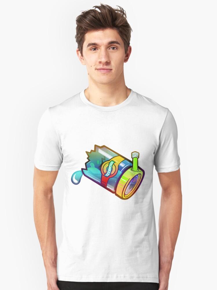 Smashed Bong. Unisex T-Shirt Front