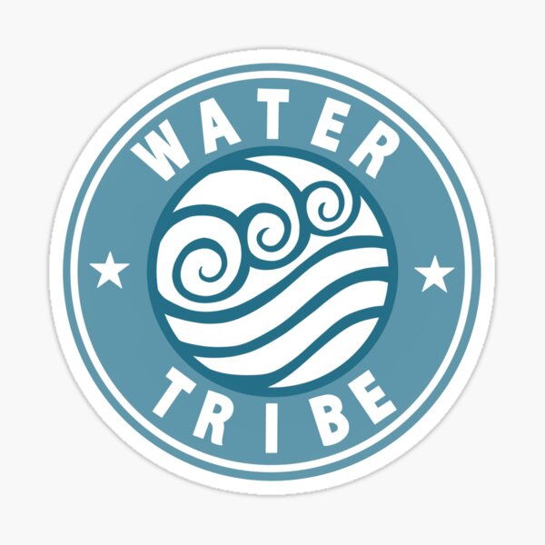 Water Tribe Badge Sticker