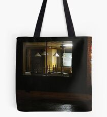 Outside The Edward Hopper Cafe Tote Bag