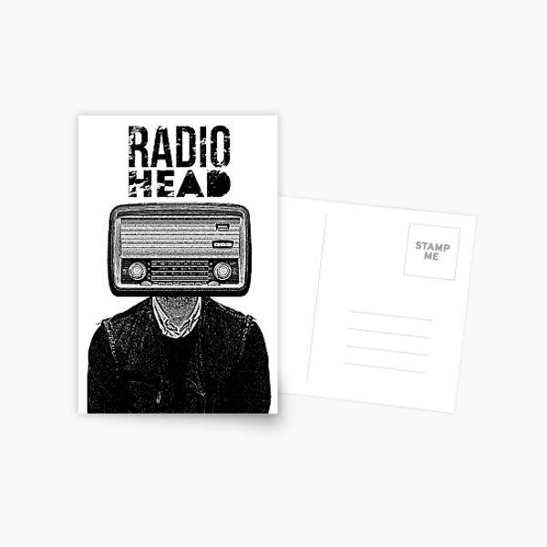 Art de la musique rock / RH Carte postale