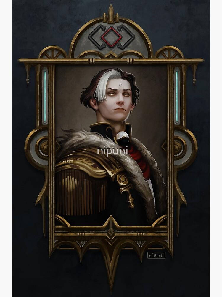 Solus zos Galvus framed portrait by nipuni