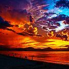 Fire in the sky by pixelman
