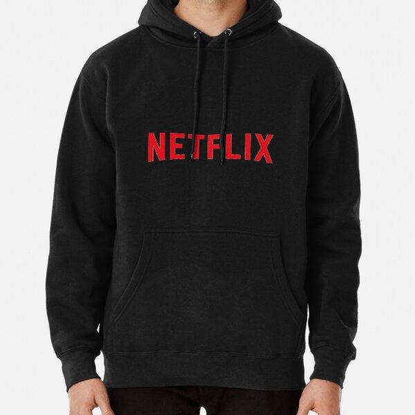 Logotipo de Netflix Sudadera con capucha