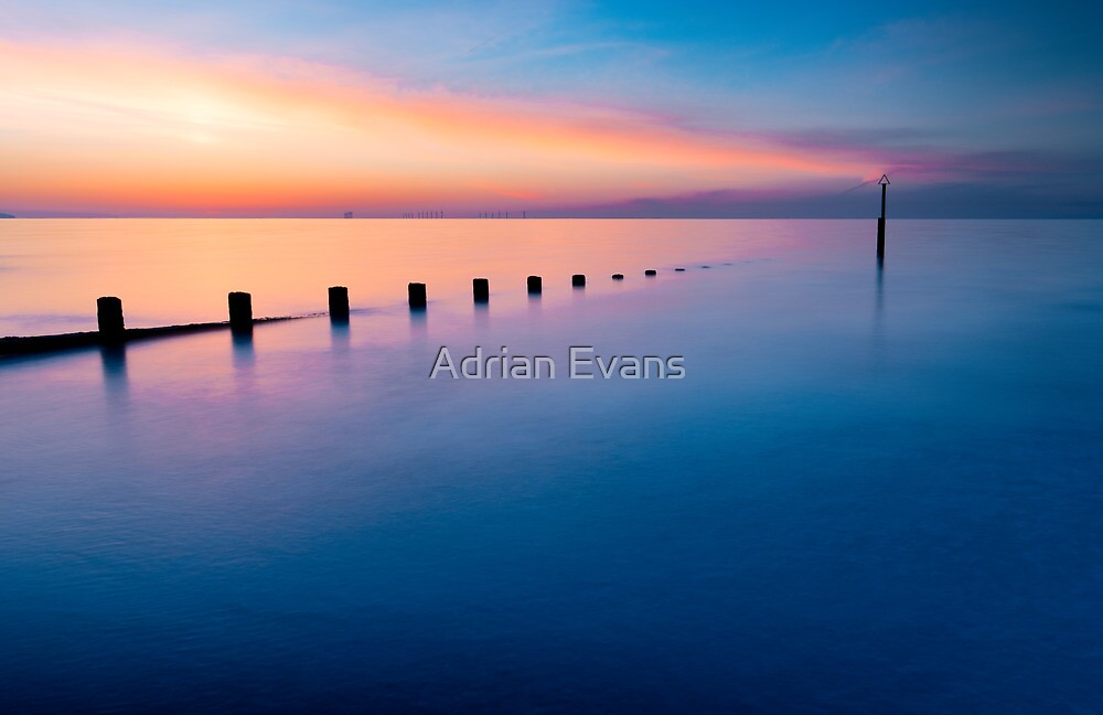Sunset  by Adrian Evans
