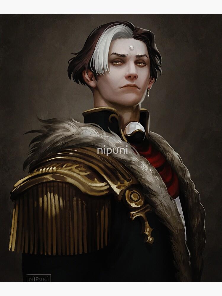 Solus zos Galvus portrait by nipuni