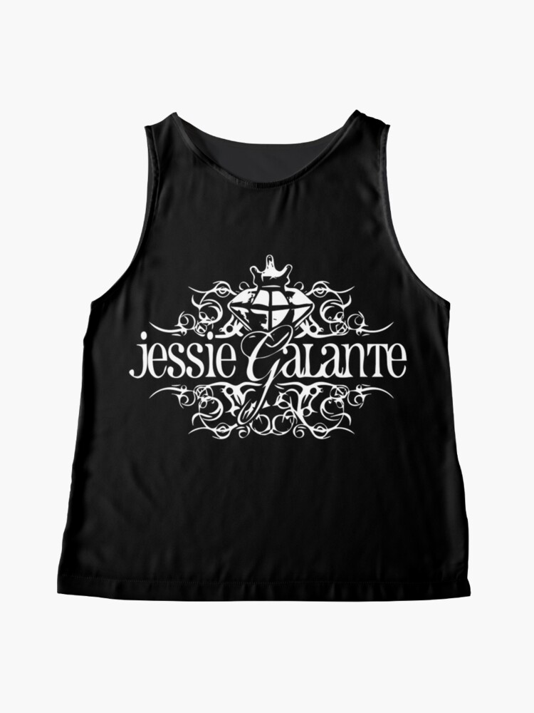 Alternate view of Jessie Galante Merchandise with Tattoo Design Sleeveless Top