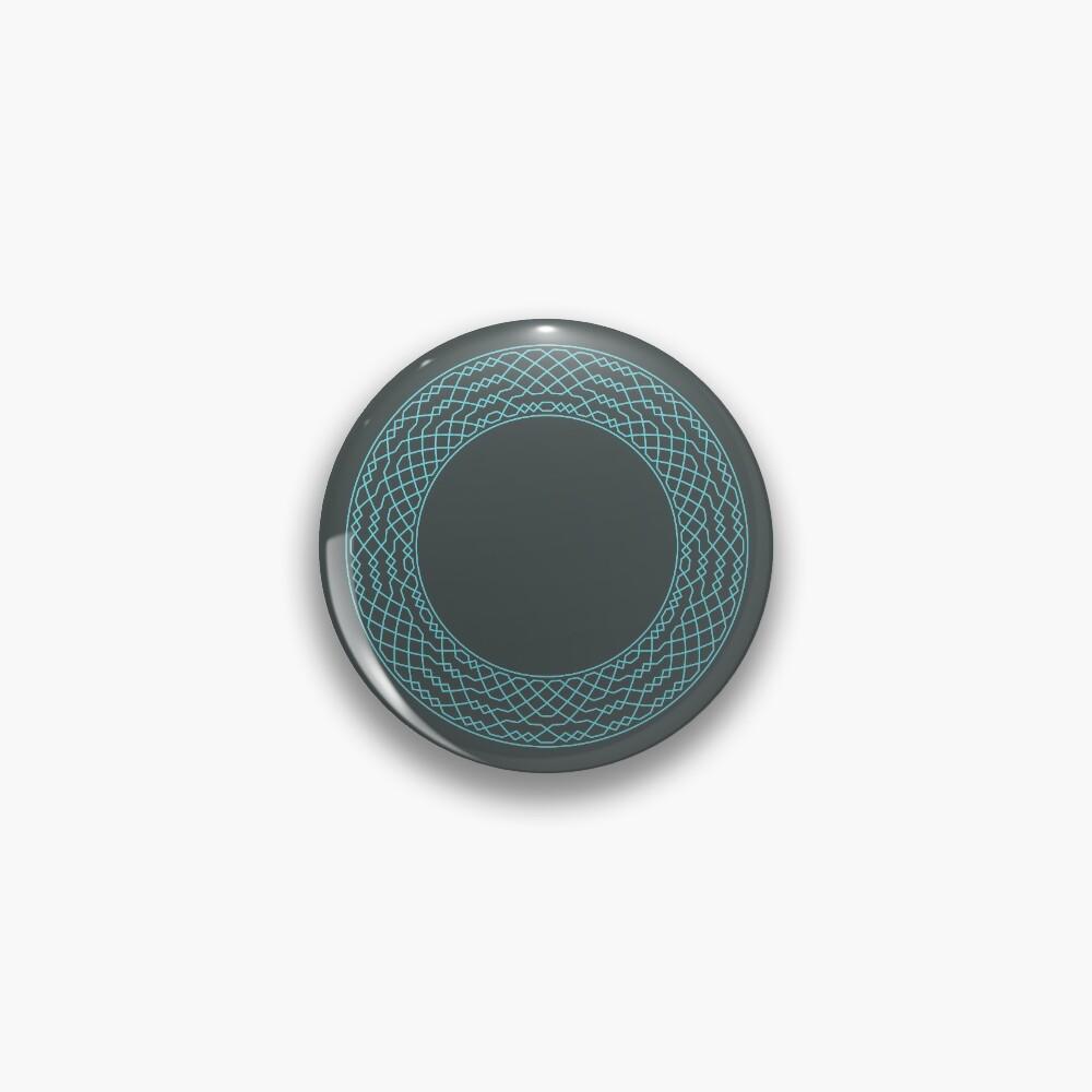 London Surprise Major Method Wreath — Pin (Blue) Pin