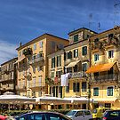 Living in Corfu Town by Tom Gomez