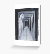 Nocturn 15: the Ghost of the Wine Cellars Greeting Card