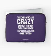 Crazy Enough Laptop Sleeve