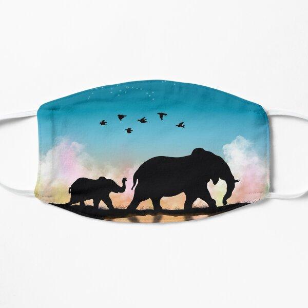 Walking Elephants Mask
