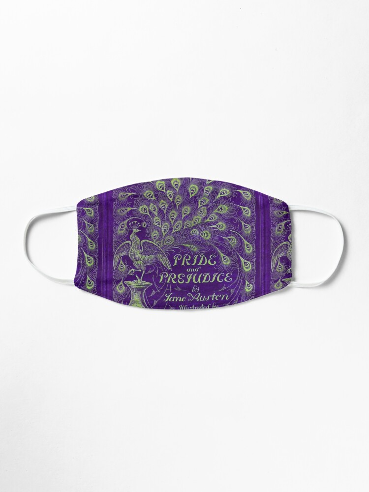 Alternate view of Pride and Prejudice, 1894 Peacock Cover in Purple Mask