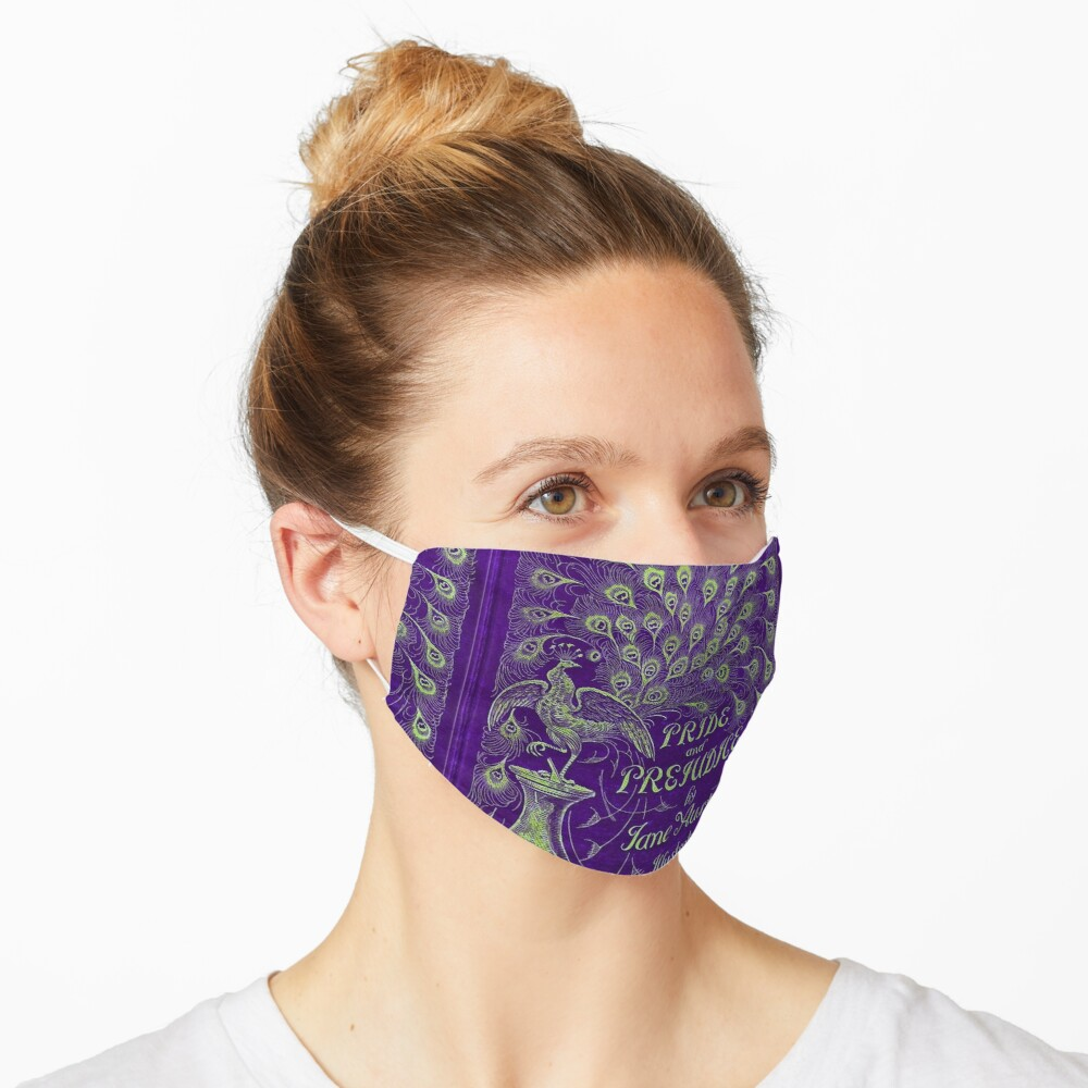 Pride and Prejudice, 1894 Peacock Cover in Purple Mask