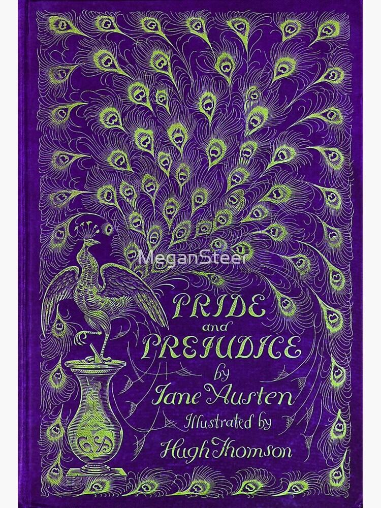 Pride and Prejudice, 1894 Peacock Cover in Purple by MeganSteer