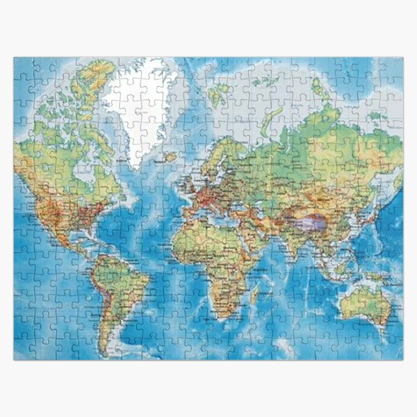 puzzle world  Jigsaw Puzzle