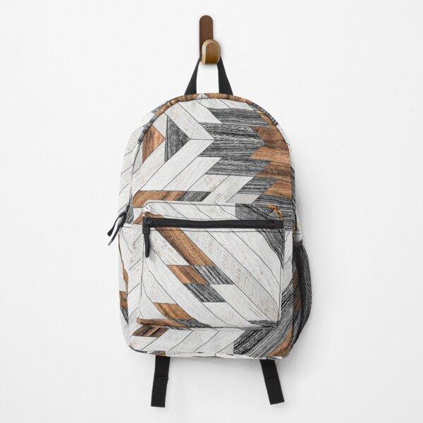 Urban Tribal Pattern No.8 - Aztec - Wood Backpack