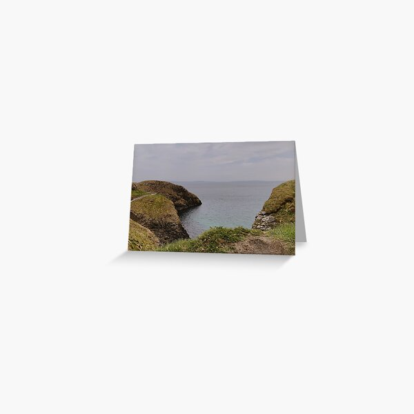 Carrick-a-Rede Northern Ireland Coast Greeting Card