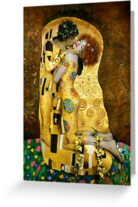 The Kiss by Brigitta Frisch