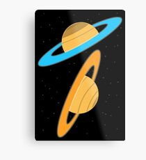 Now you're thinking with planets! Metal Print
