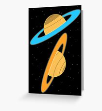 Now you're thinking with planets! Greeting Card