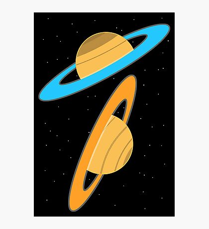 Now you're thinking with planets! Photographic Print