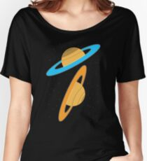 Now you're thinking with planets! Women's Relaxed Fit T-Shirt