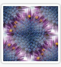 Stunning African Daisy Tropical Flower Macro Seamless Image Sticker