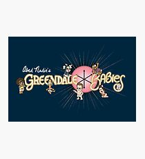 Greendale Babies Photographic Print