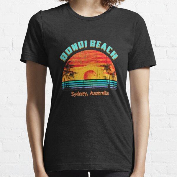 Bondi Beach, Sydney, Australia, Beach Lifestyle Retro Tee, Vacation Holiday Essential T-Shirt