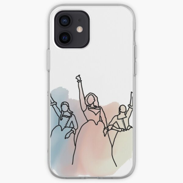 Schuyler Sisters Design iPhone Soft Case