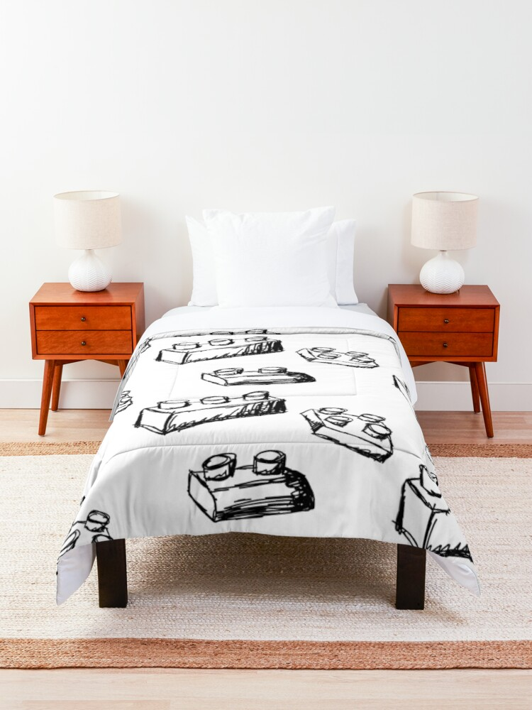 Alternate view of Building Blocks Comforter