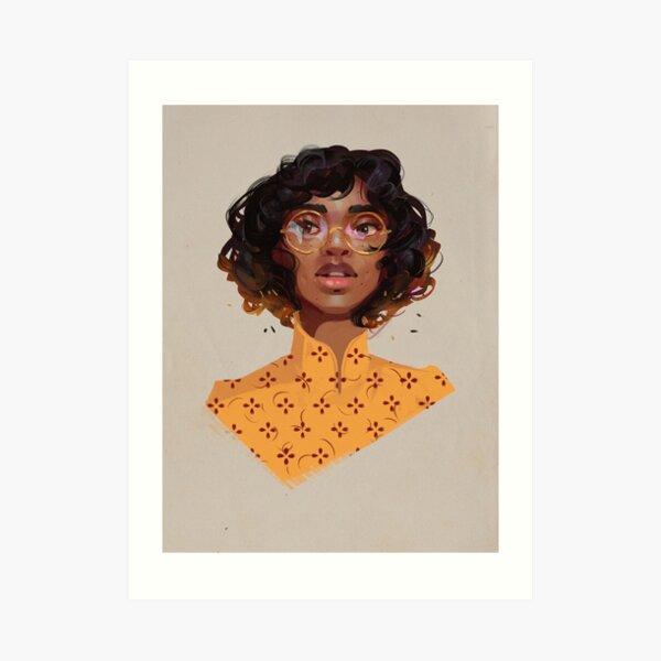 Honey and Gold  Art Print