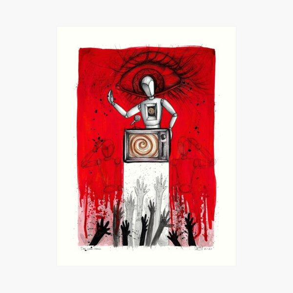The Conman (Tattoos drawing series) Art Print