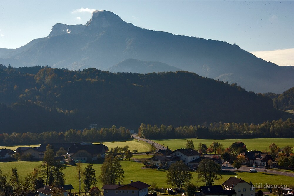 Austrian Country Side by phil decocco
