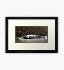 Passau From The Danube Framed Print