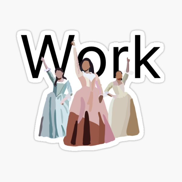 Work Sticker