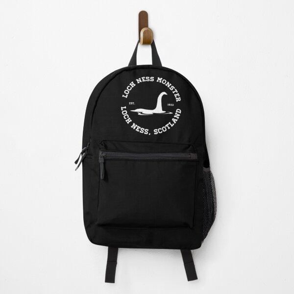 Loch Ness Monster Varsity Logo White Ver.  Backpack