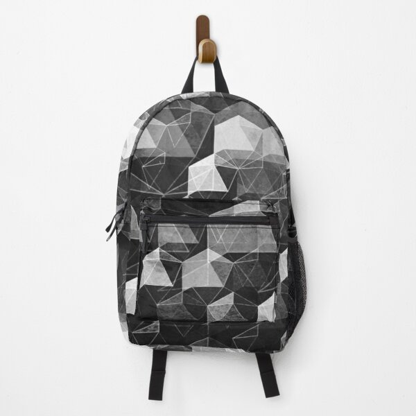 AS THE CURTAIN FALLS (MONOCHROME) Backpack