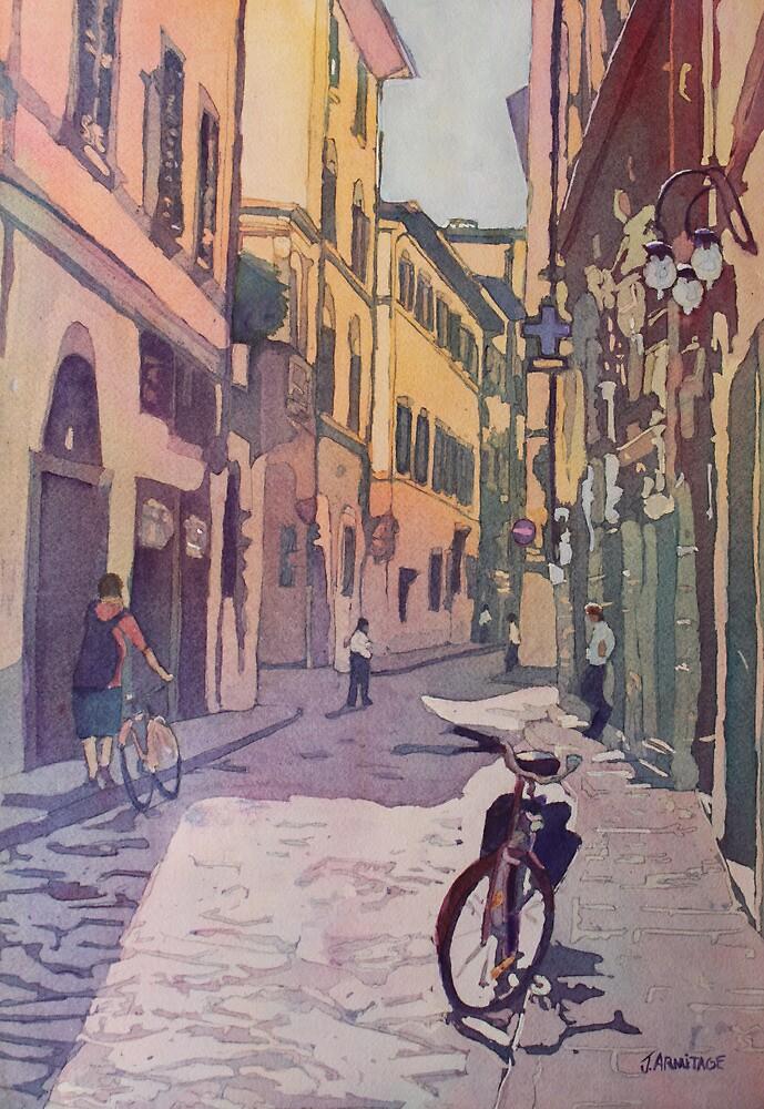 Waiting Bike by JennyArmitage