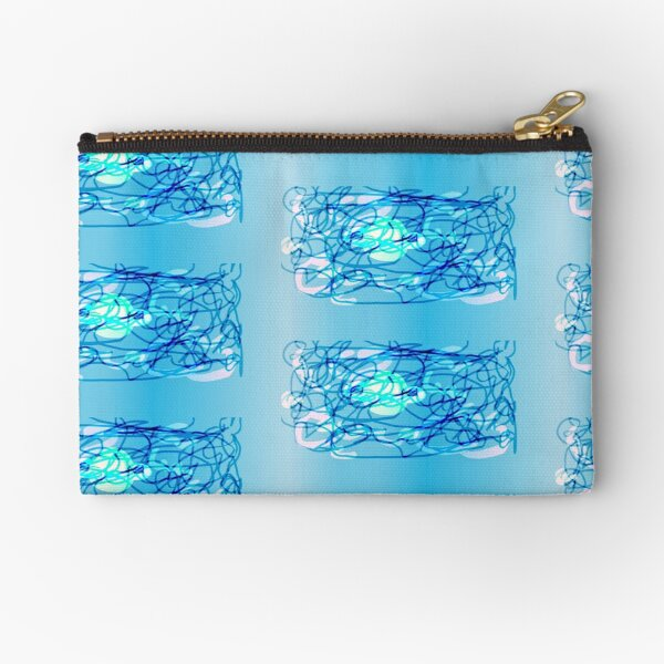 scribble planet i guess i really don't know? Zipper Pouch