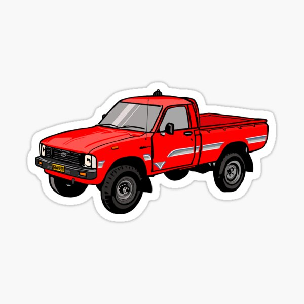 Toyota Hylux Hilux Pick Up Truck Sticker