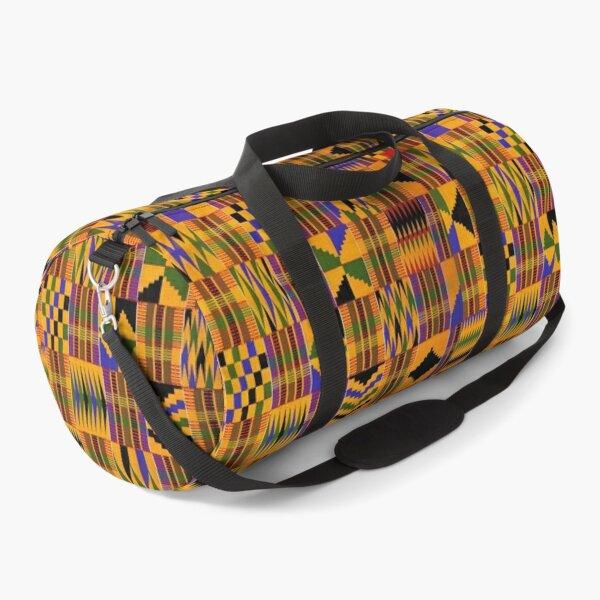 Kente Cloth Design Duffle Bag