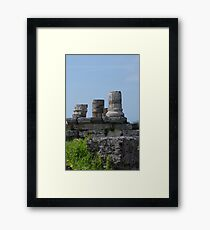 I Know My Place Framed Print