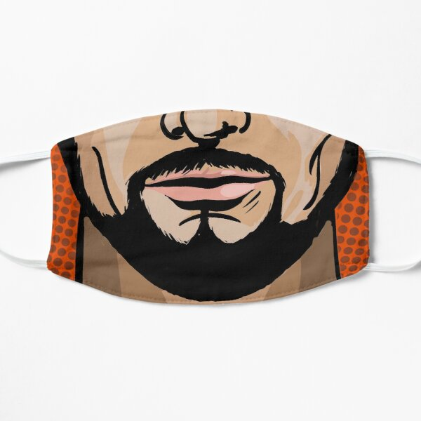 Pop Art Man's Flat Mask